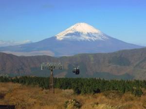 ロープウェイからの富士山2